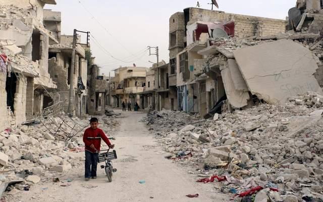 十年内战让叙利亚变成一片废墟,战火中恢复生产,医治创伤不容易