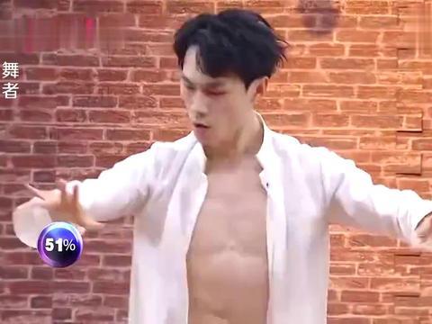 舞者:耿子博现代舞诠释诗词《将进酒》,惊艳空翻和编舞,引尖叫