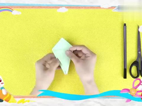 兔小贝手工课堂:小乌龟学完了,不要忘记画上眼睛哦