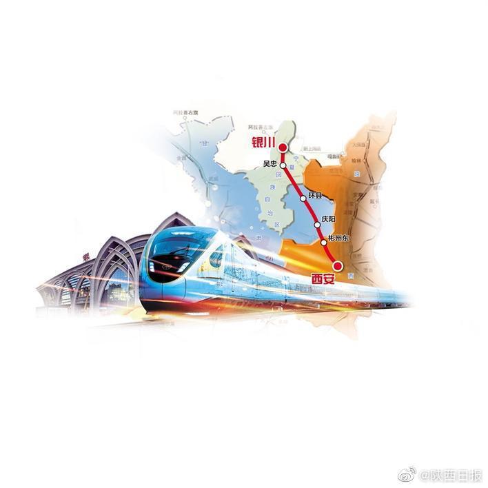 陕甘宁革命老区跨入高铁新时代