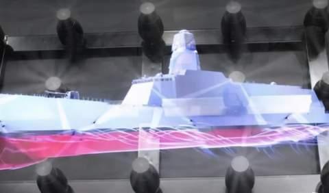 印大驱,排水量1.3万吨超过055,还要配电磁炮和激光炮