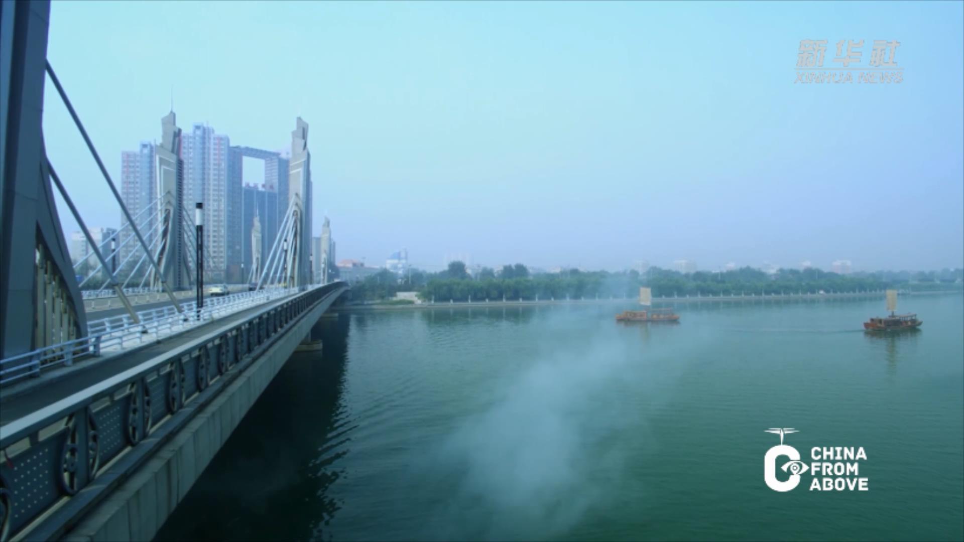 瞰中国 京城风华 包容万方 ——京杭大运河之北京段