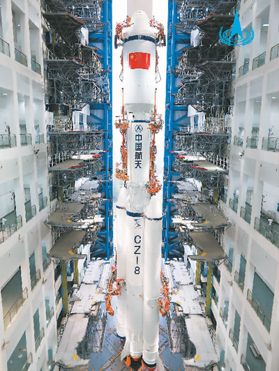 中国运载火箭家族再添新成员(国际论道)