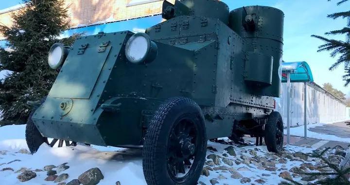 列宁同志坐过的奥斯丁.普奇洛夫装甲车:萨沙的兵器图谱201期
