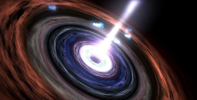 宇宙学家发现了来128亿光年前宇宙的大规模放射性射流
