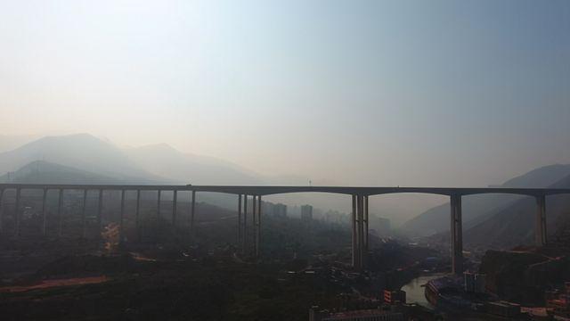 昭通彝良县60万名人民群众将告别县内不通高速公路的历史