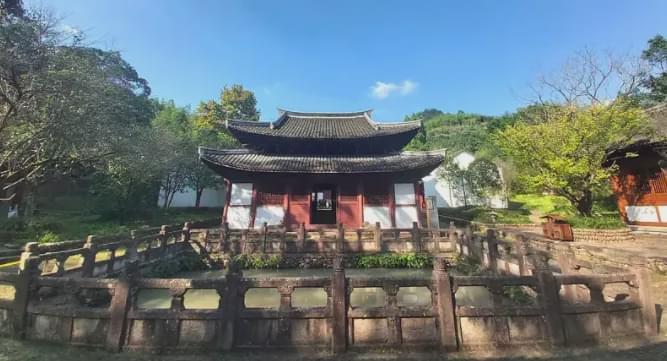 浙江武义一寺庙,梁思成特意来考察测绘,日本古建专家赞不绝口