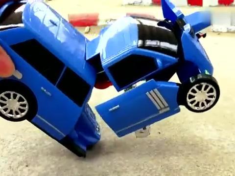 变形汽车和变现飞机玩具试玩,婴幼儿宝宝早教游戏视频