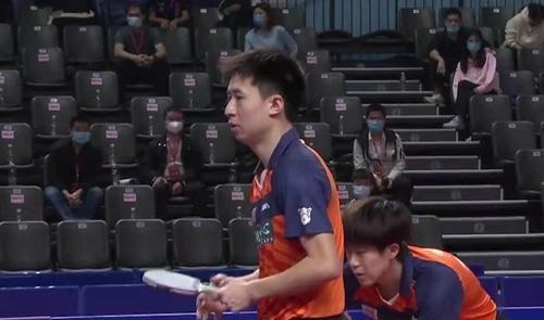 王楚钦/方博3-1胜林昀儒/周启豪,为决赛开好头,山东鲁能1-0领先