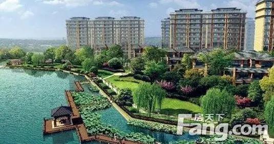 有一种美好叫我家住在公园里 盘点蚌埠高绿化率楼盘