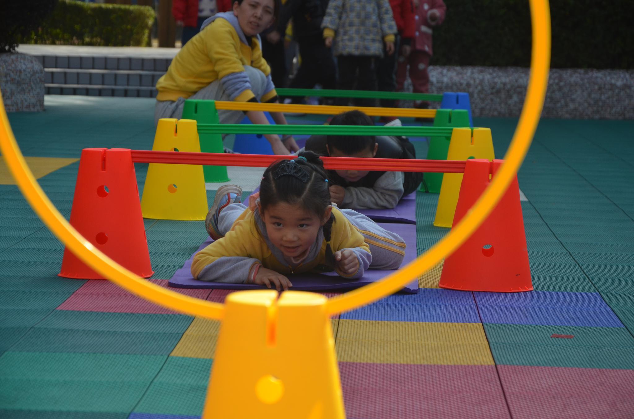 中天国际幼儿园开展第三届体能训练成果展示活动