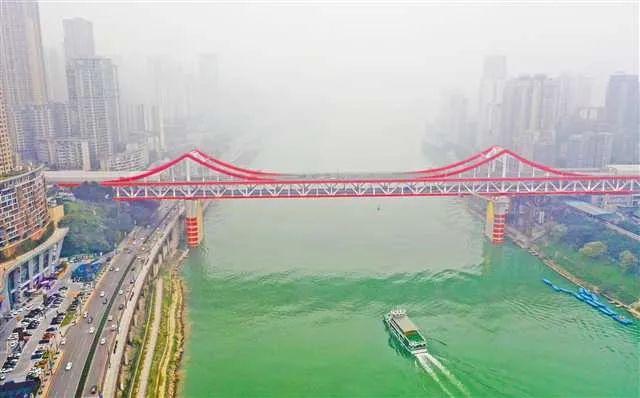 【交通】曾家岩嘉陵江大桥主线,即将通车!图片