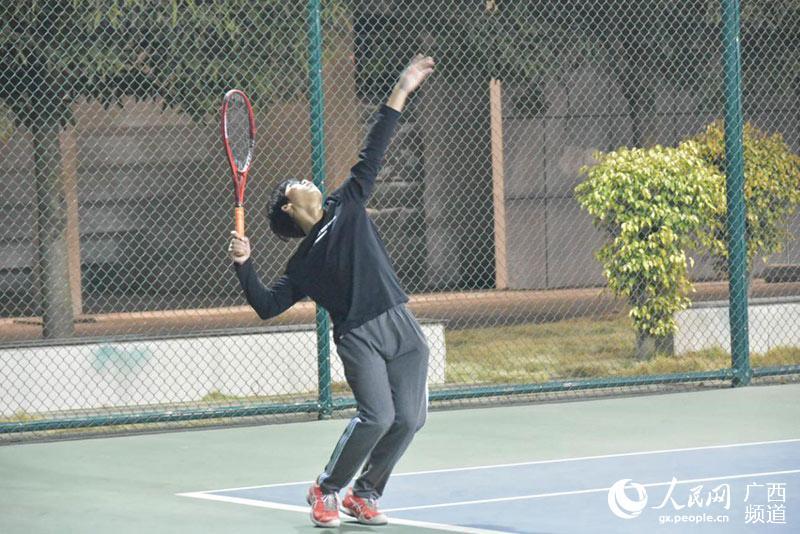 2020年广西青少年网球团体锦标赛在平果市圆满收拍