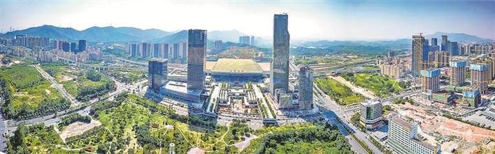 龙华:一水润城绘新绿,果然繁华又宜居