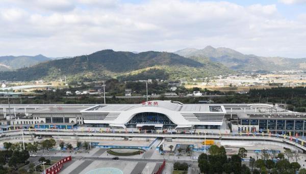 杭深铁路苍南高铁站改扩建新站房正式启用【组图】