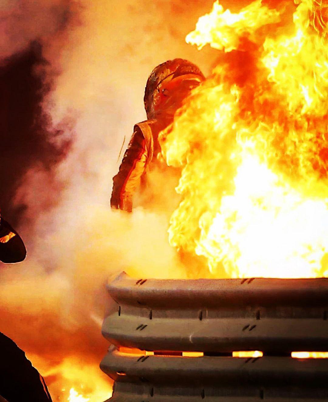 格罗斯让自述火中28秒:终身难忘 看着死神来临