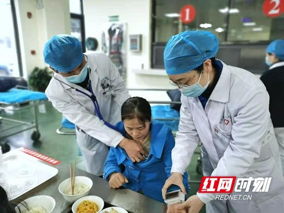张家界市人民医院开展食物中毒事件应急演练活动