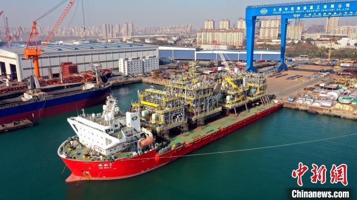中远海运工程顺利承运巴西国家石油公司FPSO模块