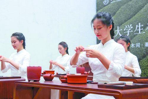 汕头大学淑德书院举行潮人食茶生活艺术展