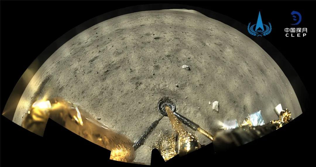 """环球聚焦点丨""""嫦娥""""翩然落月""""中国再次展现太空领域领先国家的实力""""!"""