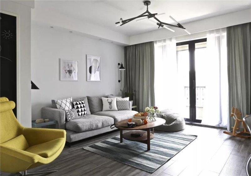 130平米的三居室装修案例欣赏,将北欧风融入到现代生活当中。