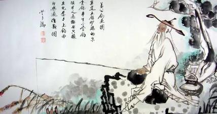 姜太公钓鱼 用的什么钩