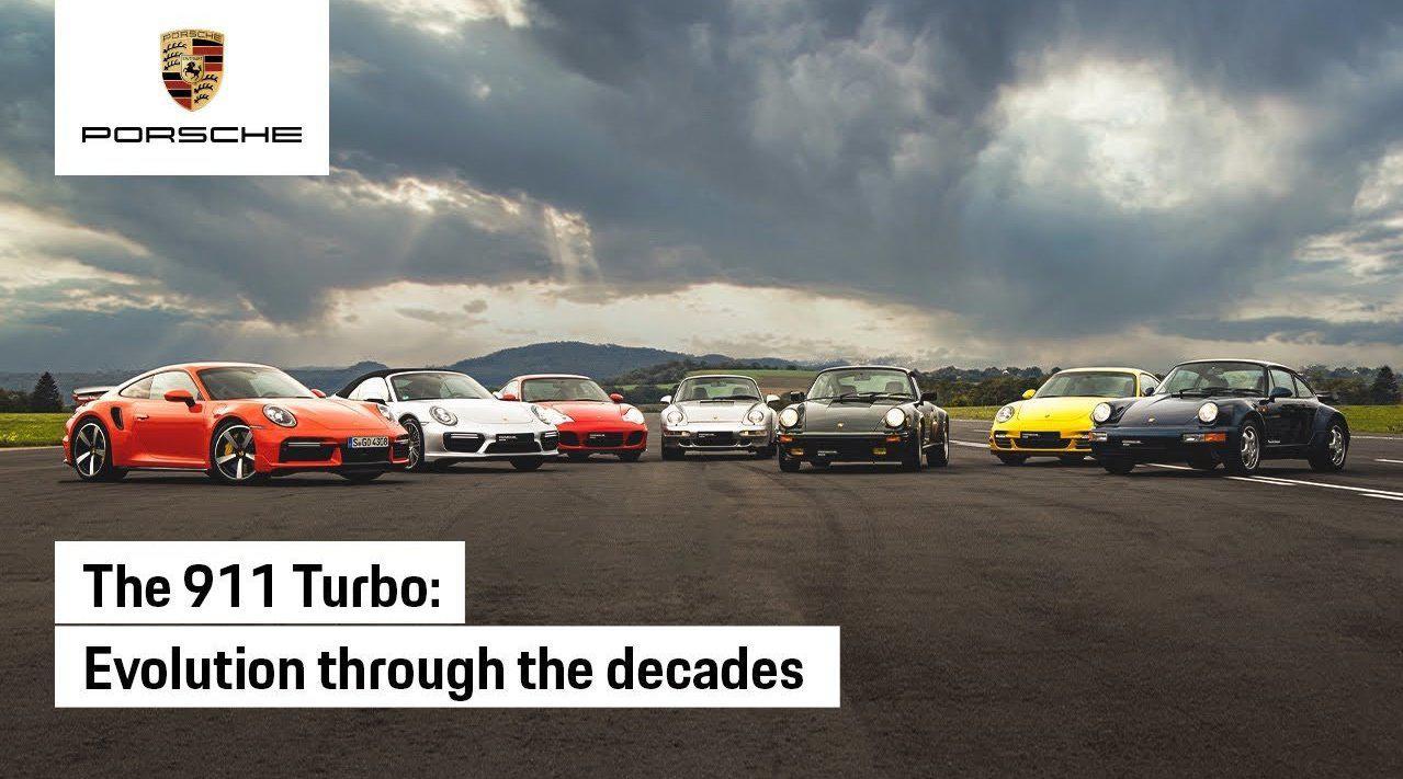 大片!保时捷911 Turbo的进化……