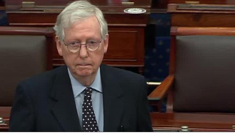 麦康奈尔否决2000美元法案投票,特朗普怒了