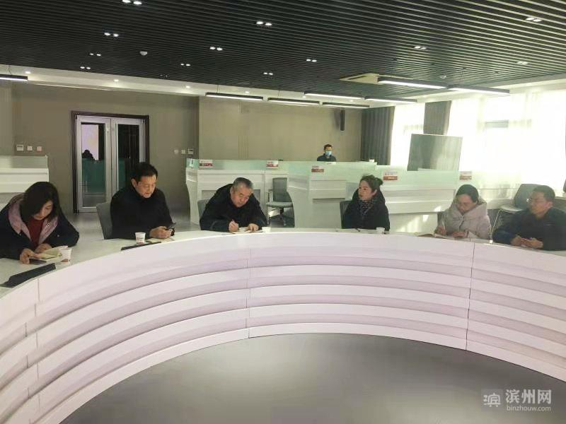 马广才到滨州日报党支部联系点调研指导工作