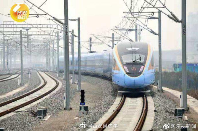 西银高铁平均28分钟一趟  助力旅客畅游陕甘宁