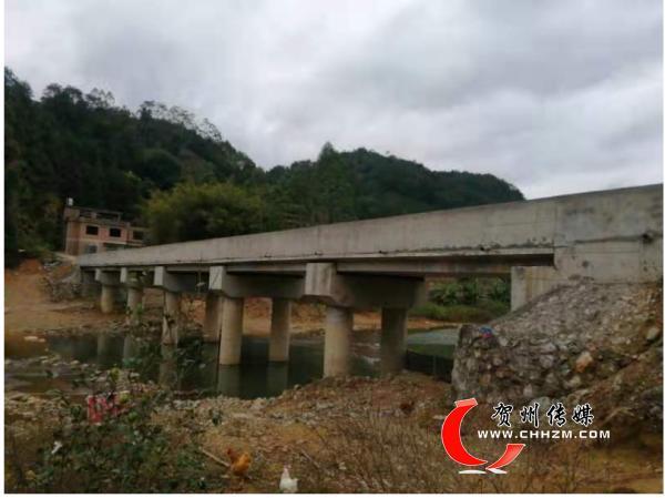 八步区黄洞瑶族乡人大为百姓架设幸福桥
