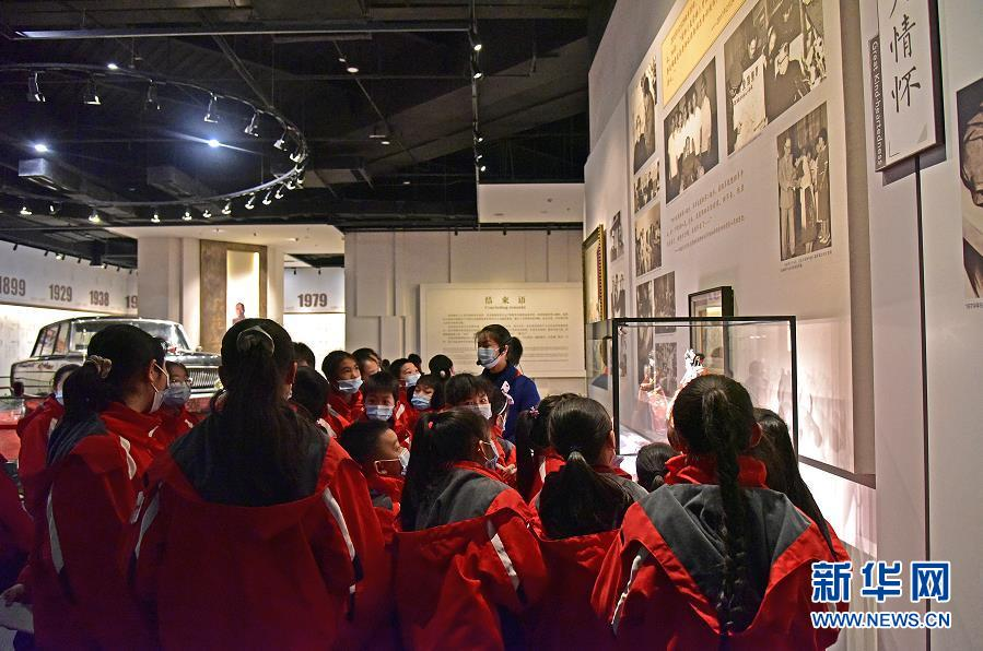 聂荣臻元帅陈列馆全线升级 争创全国博物馆十大陈列展览精品