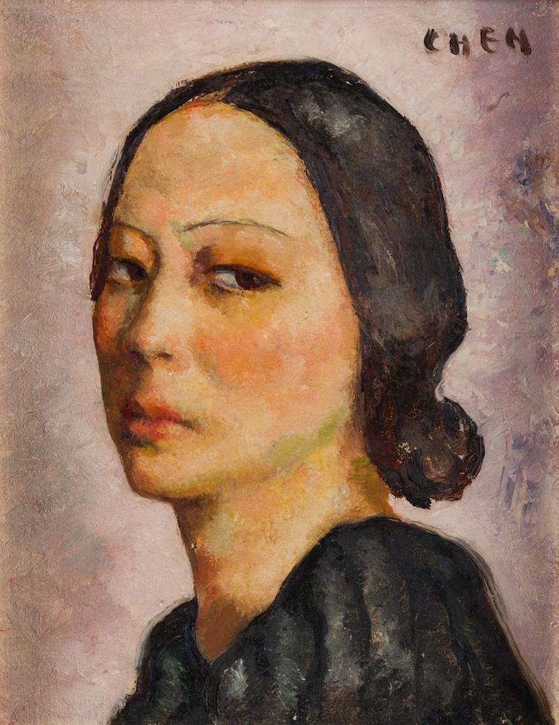 新加坡展张荔英画作:她是张静江的女儿,更曾与潘玉良齐名