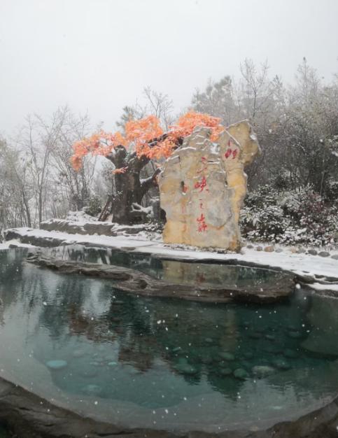 奉节三峡之巅雪景 陈丁 摄