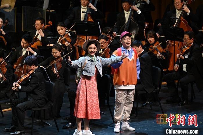 大型原创京剧交响套曲《京城大运河》在国家大剧院首演