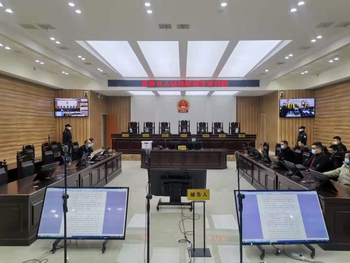 县法院对综合农场16人涉黑案一审宣判 张某友获刑23年