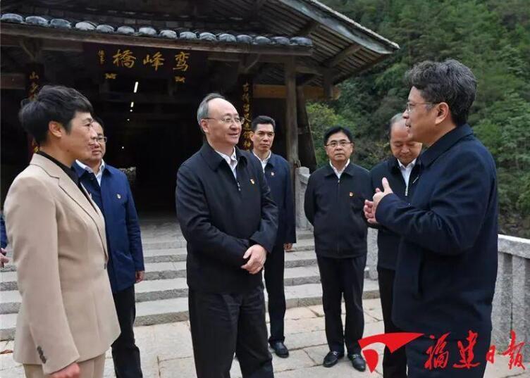 福建省委书记尹力履新后第一次调研,去了这个地方……
