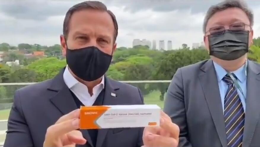 """美媒又酸:中国带着疫苗""""闯""""我家后院啦图片"""