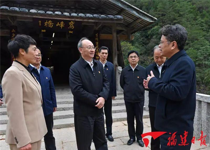 福建省委书记尹力履新后第一次调研 去了宁德
