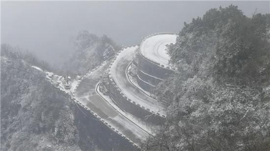 四川盆地冷到3℃还不下雪 网友:环盆地下雪带?