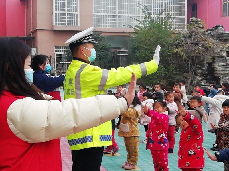 """谯城区双沟镇:安全文明出行进校园 撑起未成年人安全""""保护伞"""""""