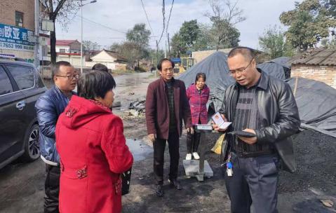 宁县分局多措并举开展燃煤市场专项整治