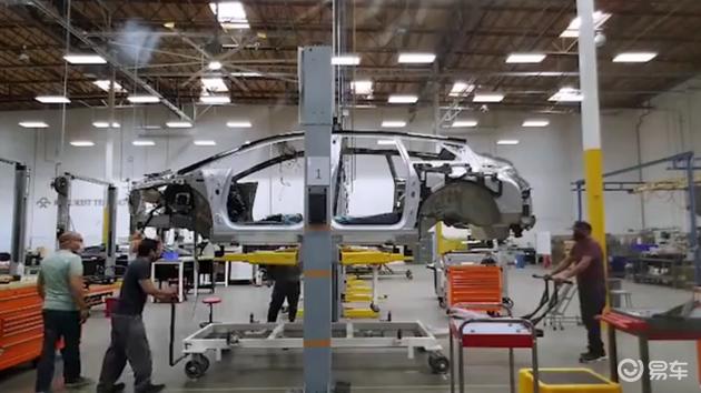 Faraday Future生产车间曝光 FF 91预量产车继续推进