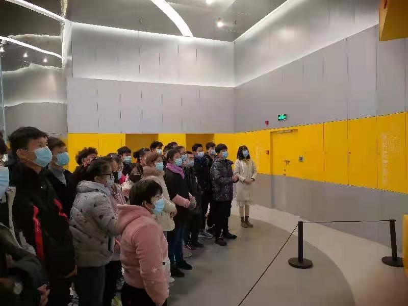 特殊教育学校学生走进淮安民防馆