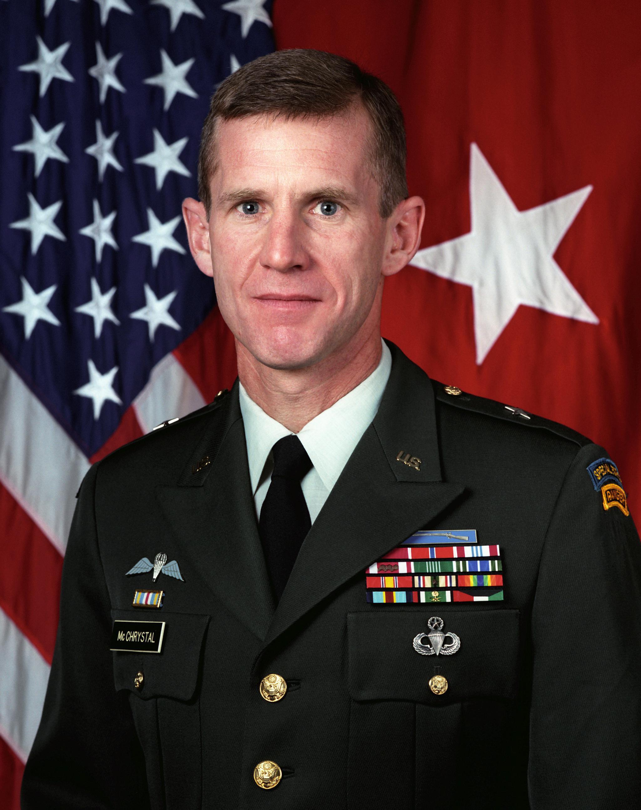 美軍上將麥克里斯特爾(攝影時為準將)圖源:美國國防部