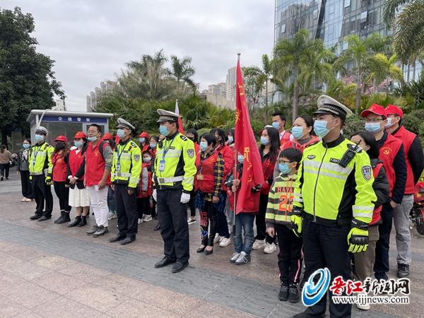 """""""晋江文明 没我不行""""交通劝导志愿服务活动今日举行"""