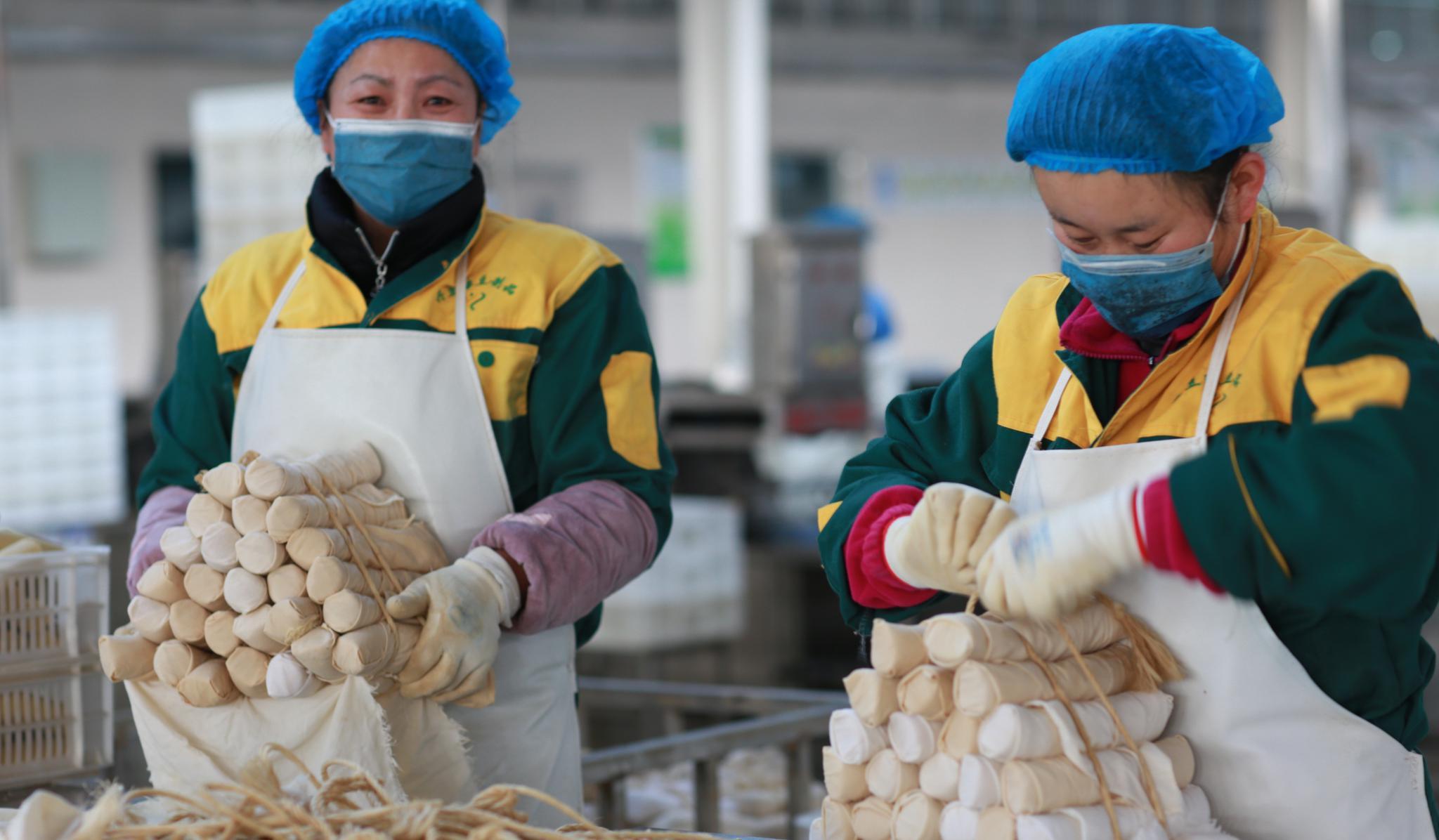 老豆腐新科技 绿色食品保供应