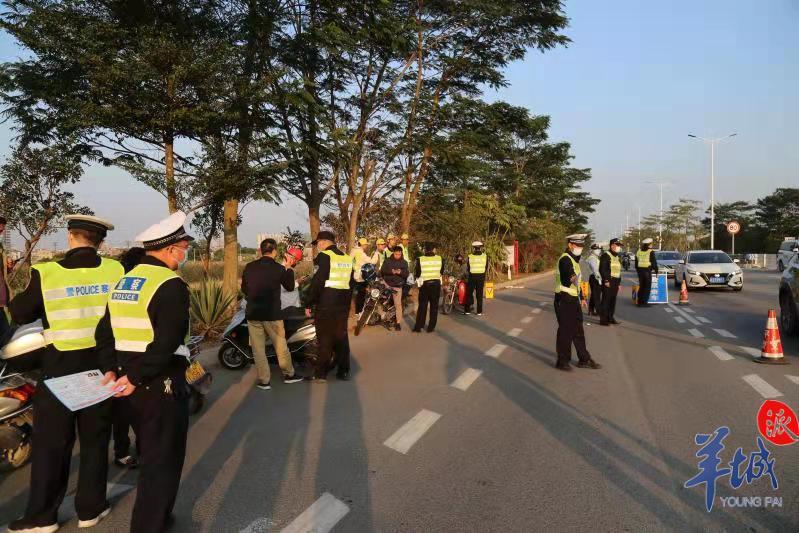 江门开平开展摩托车电动自行车交通安全专项整治大行动
