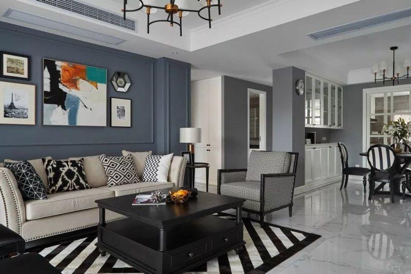 花17万元装修这套130平米的三居室,美式风格,给大家晒晒!