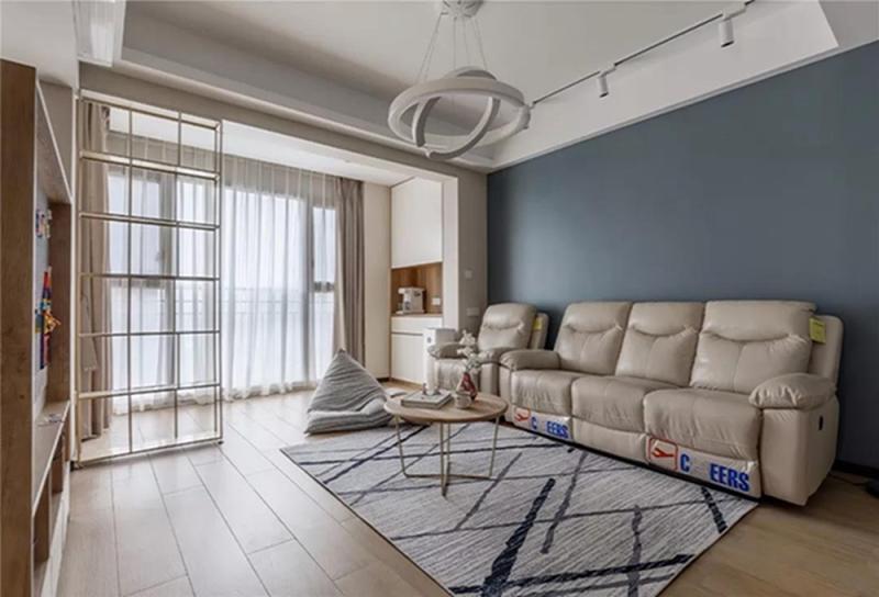 96平米三居室仅11万,太超值了!现代风格老婆最爱!
